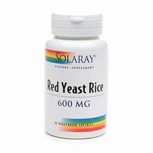 Colesterol. Yeast Red Rice Solaray: Productos de Herboristería Leizuri