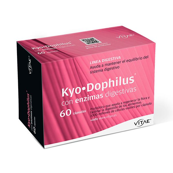 Flora intestinal. Kyo Dophilus Vitae: Productos de Herboristería Leizuri