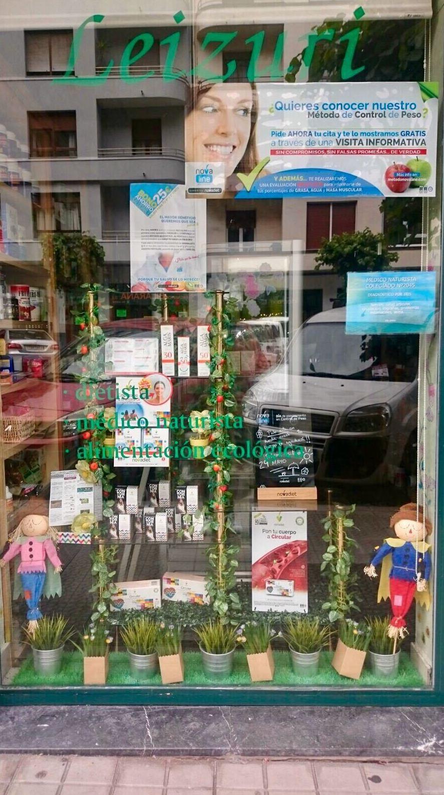 Herboristería Leizuri en Bilbao