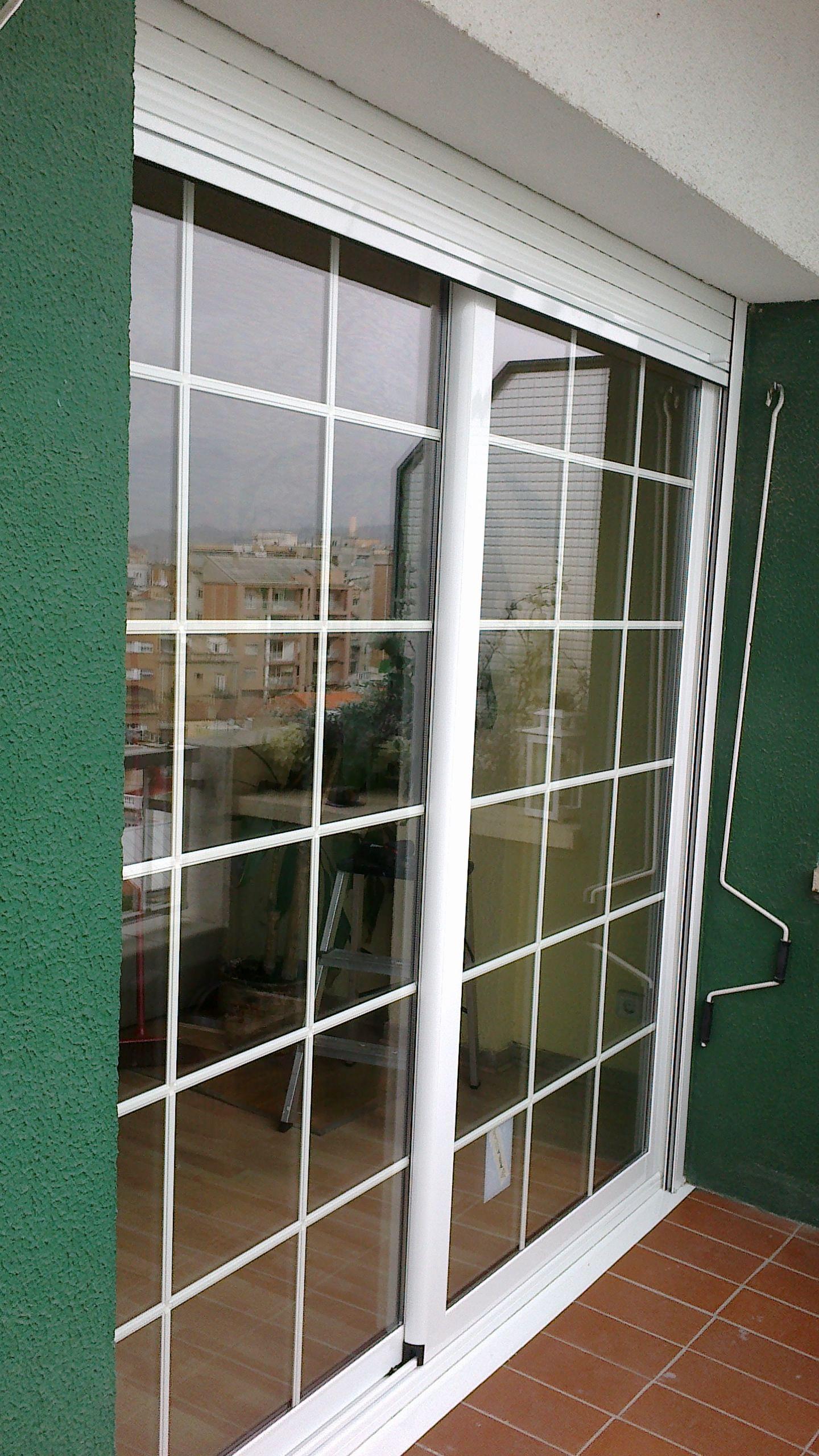 Foto 15 de carpinter a de aluminio met lica y pvc en barcelona vicar - Puerta terraza ...