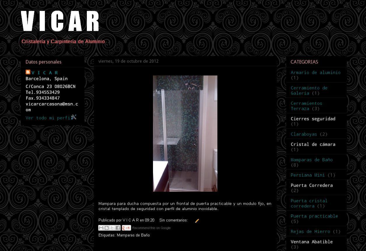 Blog VICAR