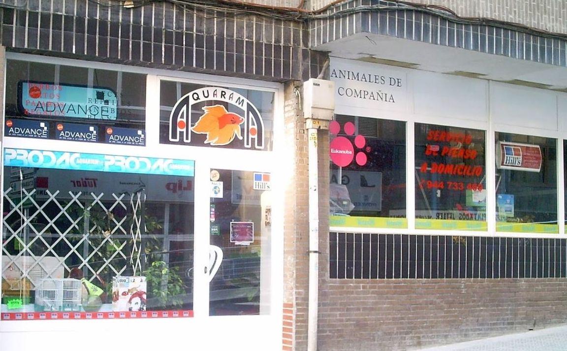 Tienda de animales en Bilbao