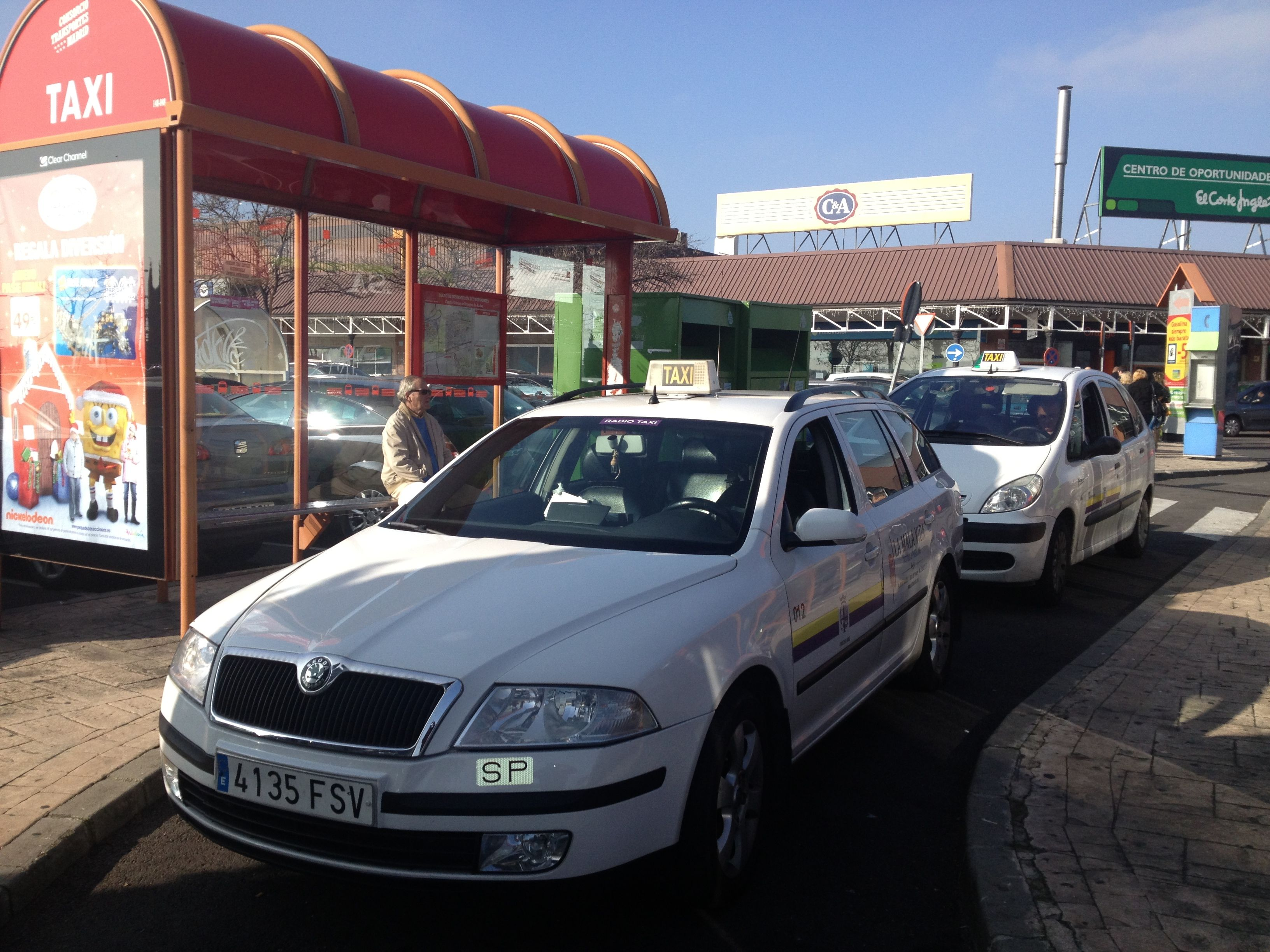 Foto 3 de Taxis en Torrejón de Ardoz | Radio Taxi Torrejón