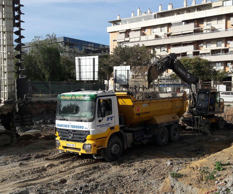 Demoliciones en terrenos de distintos niveles