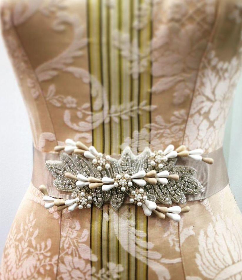 Cinturón para novia