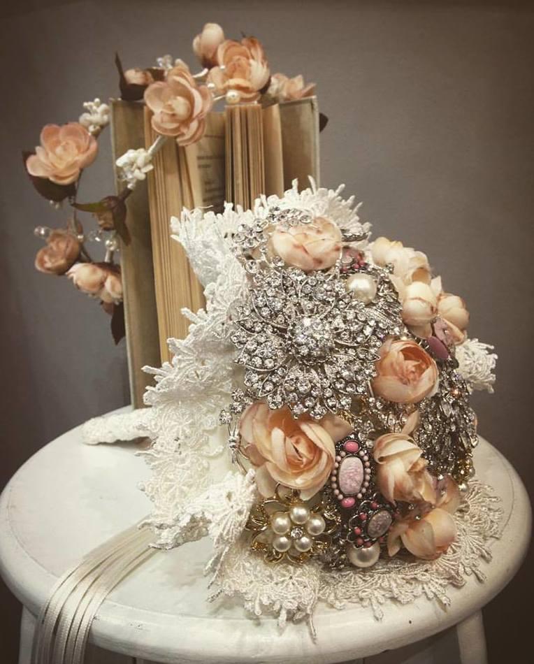 Ramos de joyas para novias