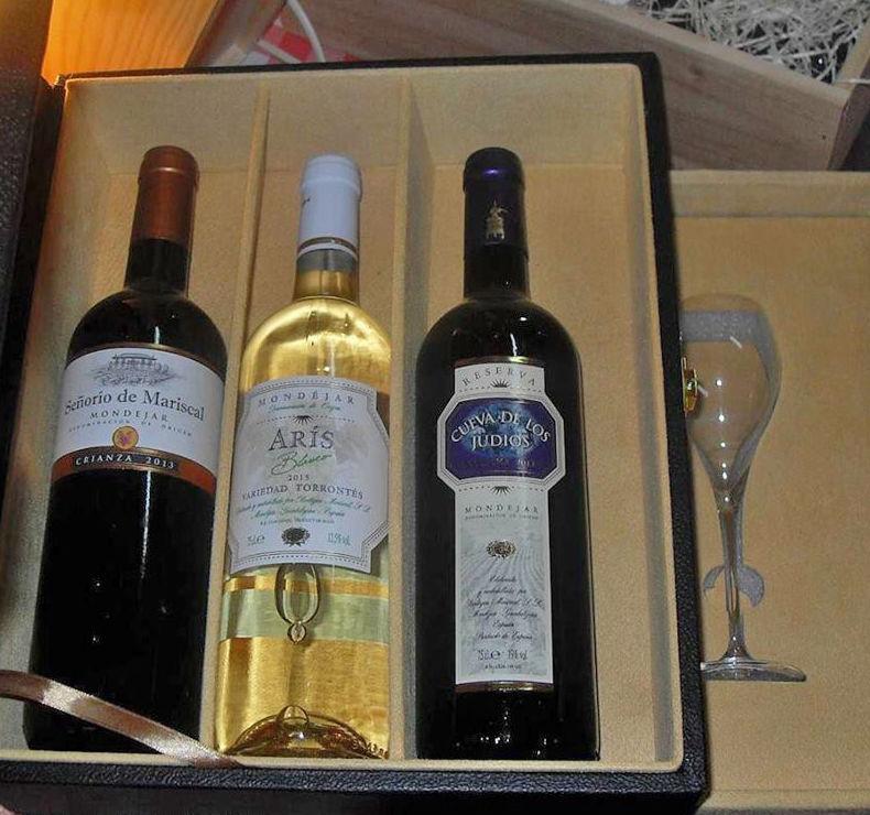 Ideas para regalar vino