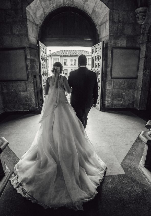 Fotografías en blanco y negro para bodas
