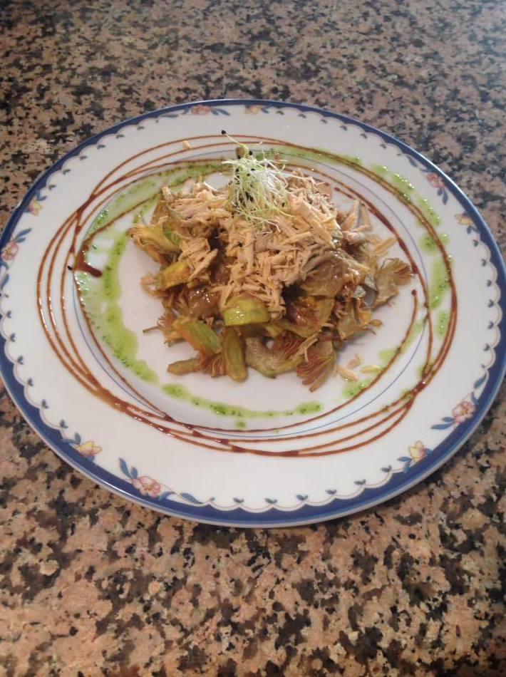 Comida casera en El Cortijo