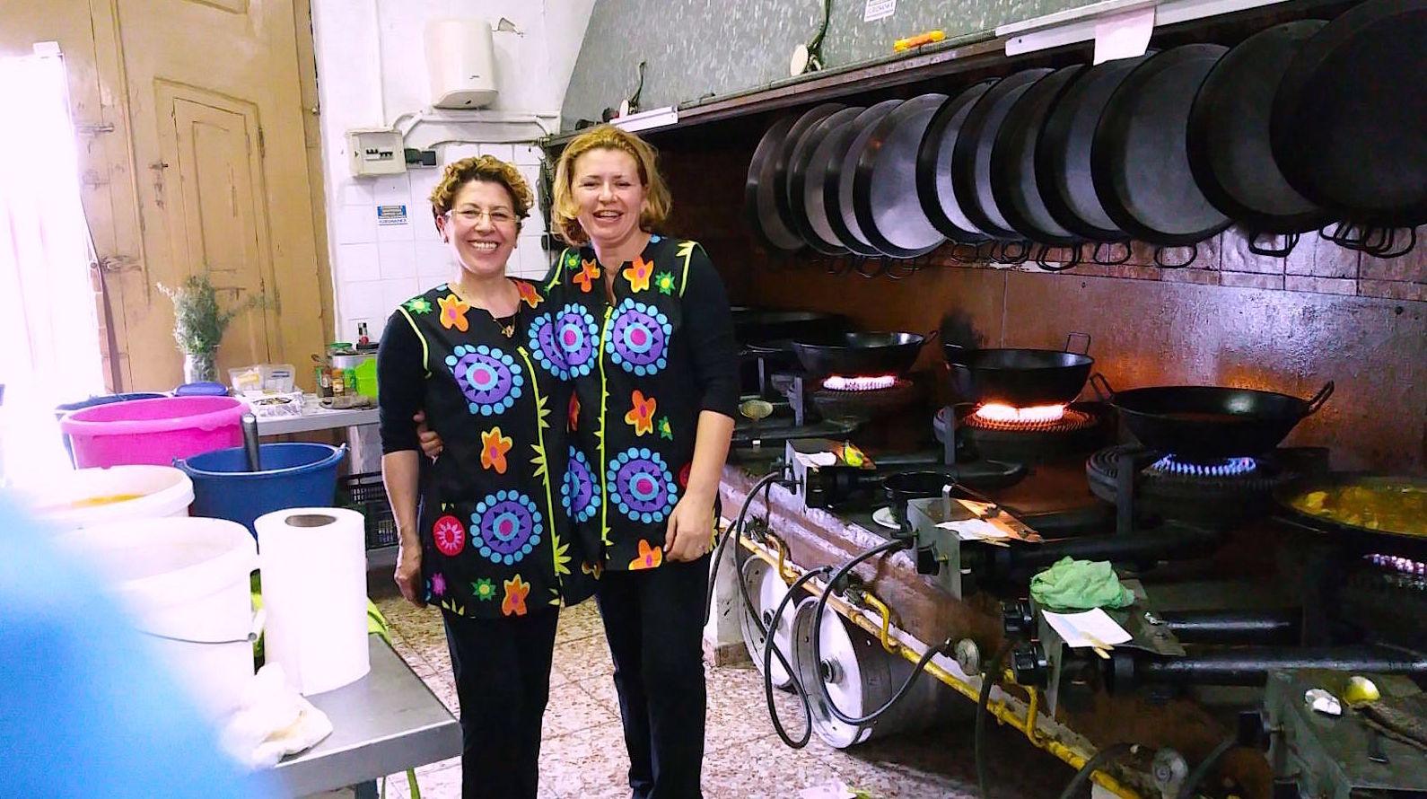 Nuestra cocina, el corazón del restaurante