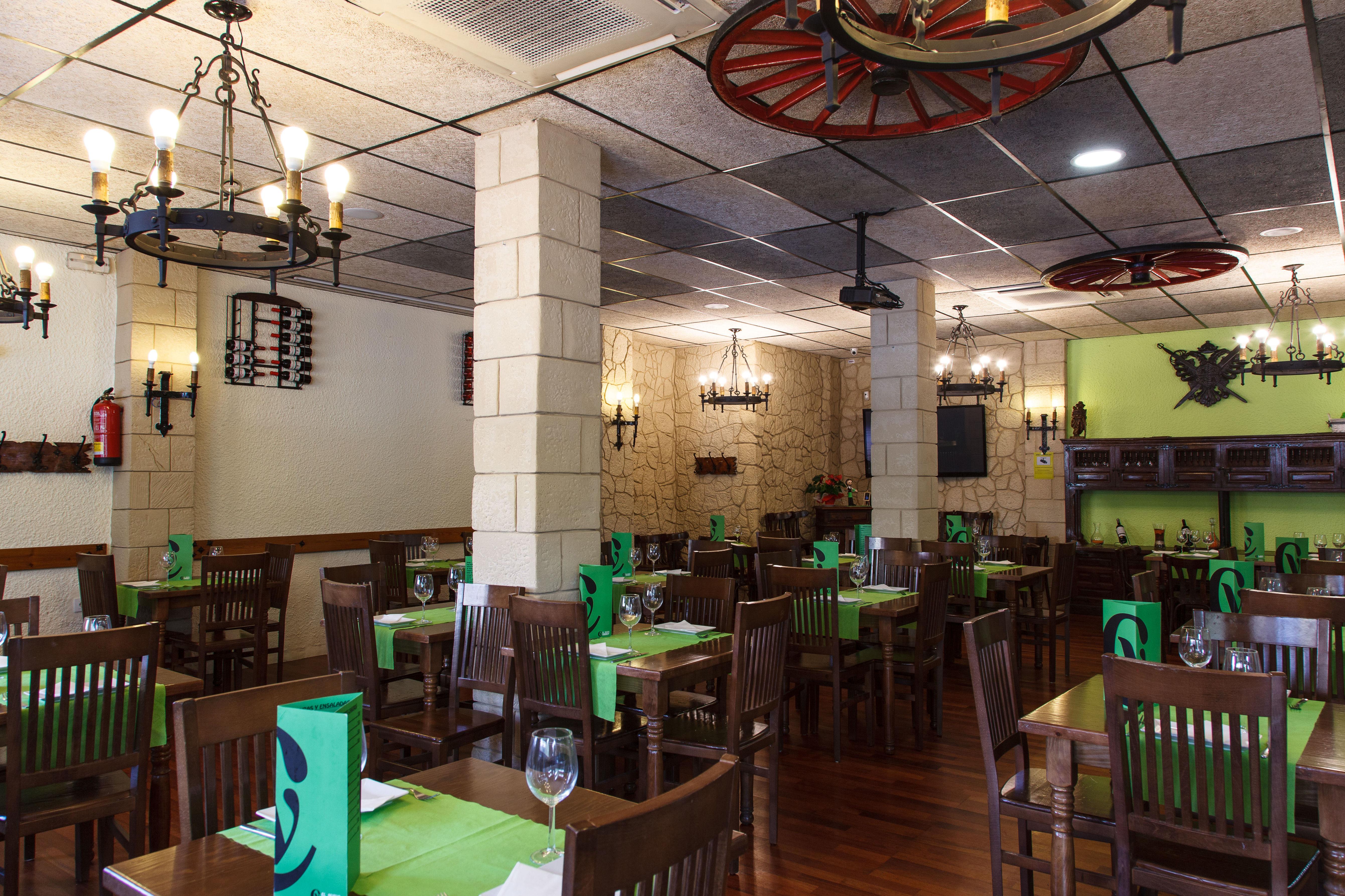 Restaurante con menú diario y fin de semana
