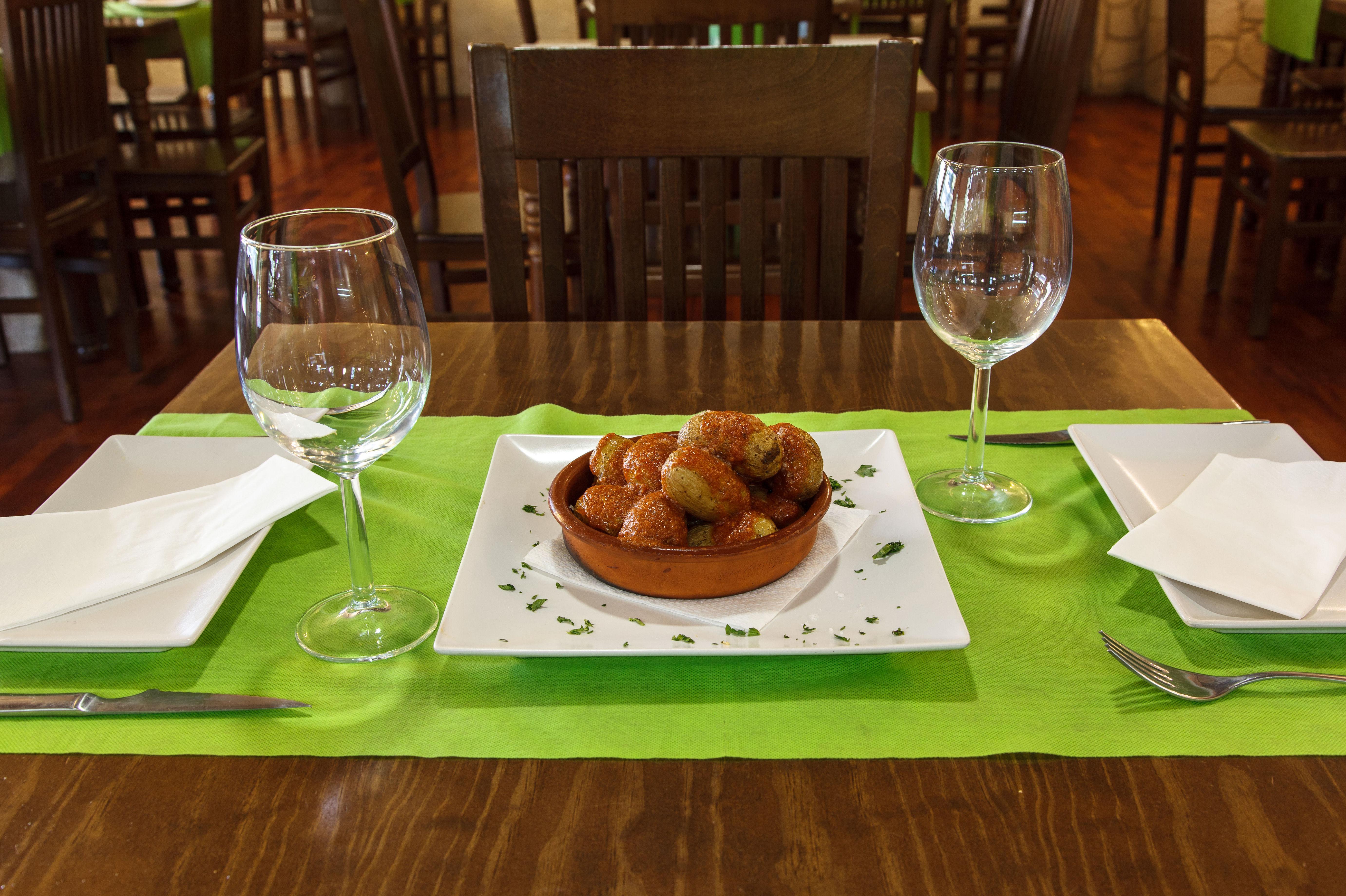El Nuevo Virrey, cocina mediterránea
