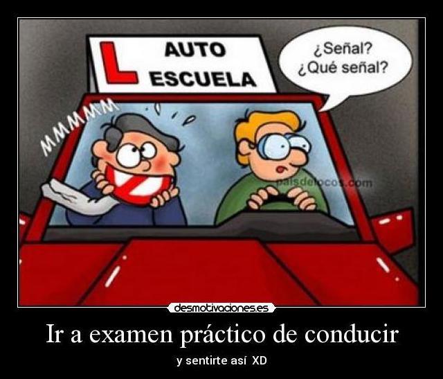 Examen conducir