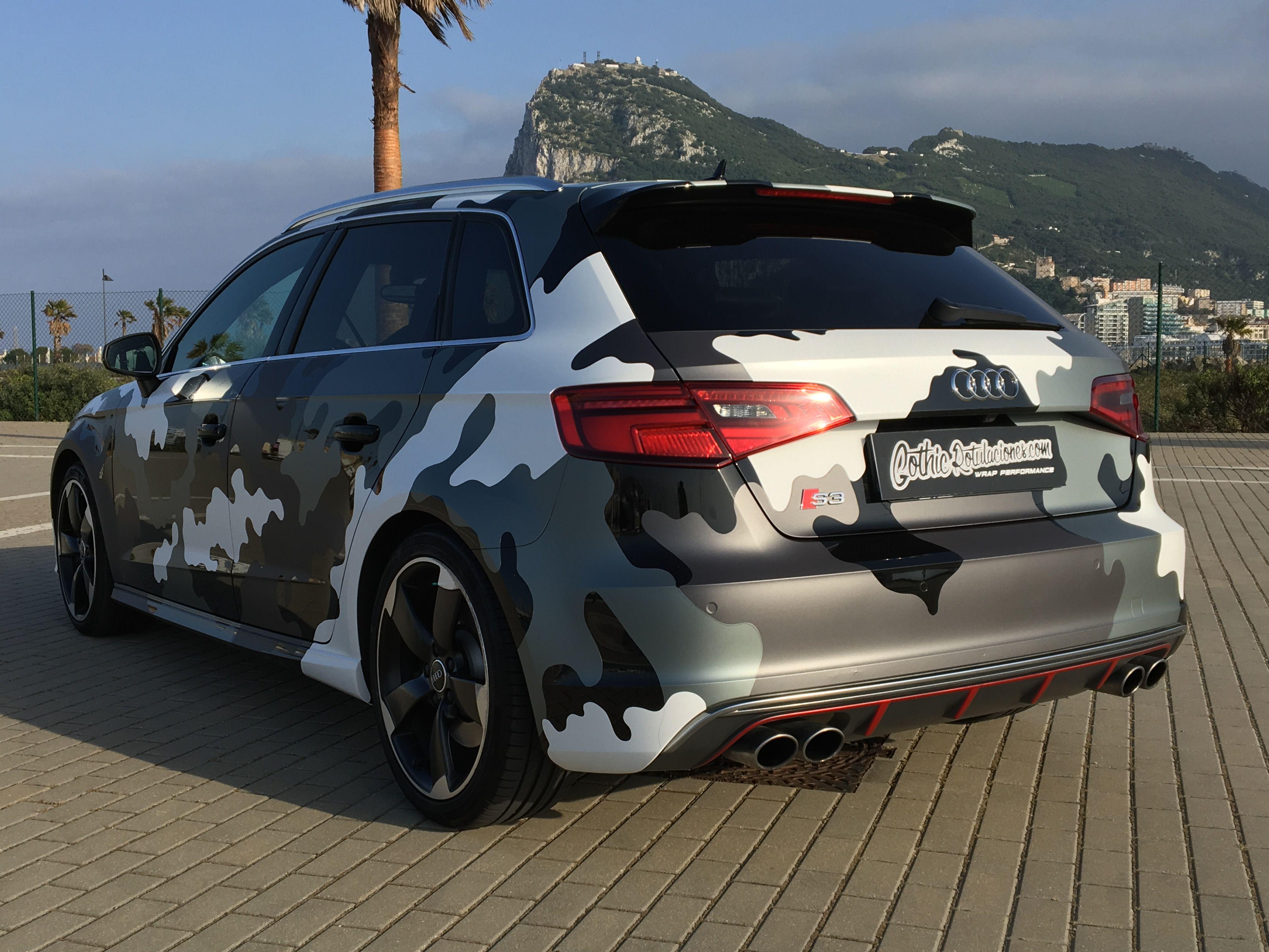 Wrap Audi S3