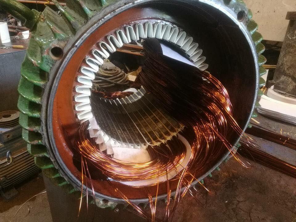 Taller de bobinado de motores eléctricos Arganda del Rey