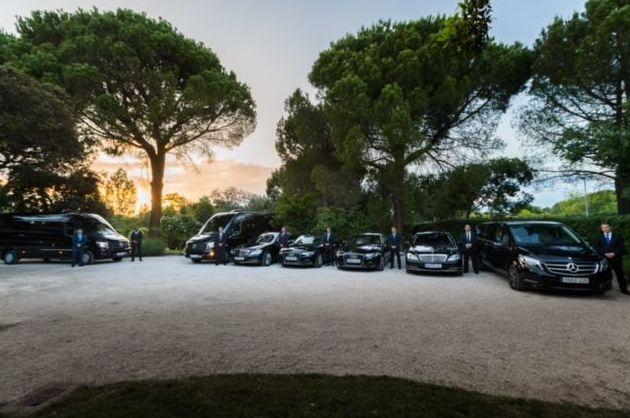 Transporte privado: Servicios y Flota de Black Cars Spain