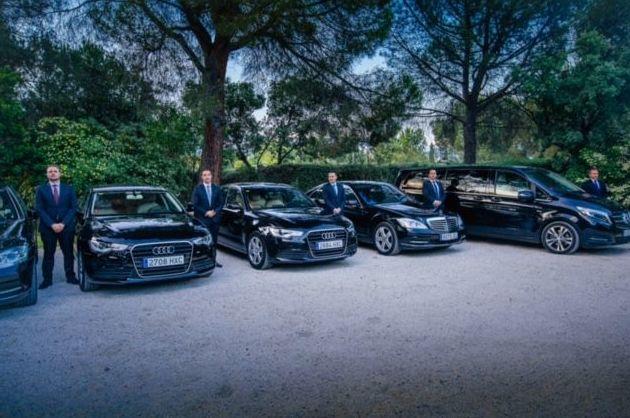 Traslados privados en coches de lujo en Madrid