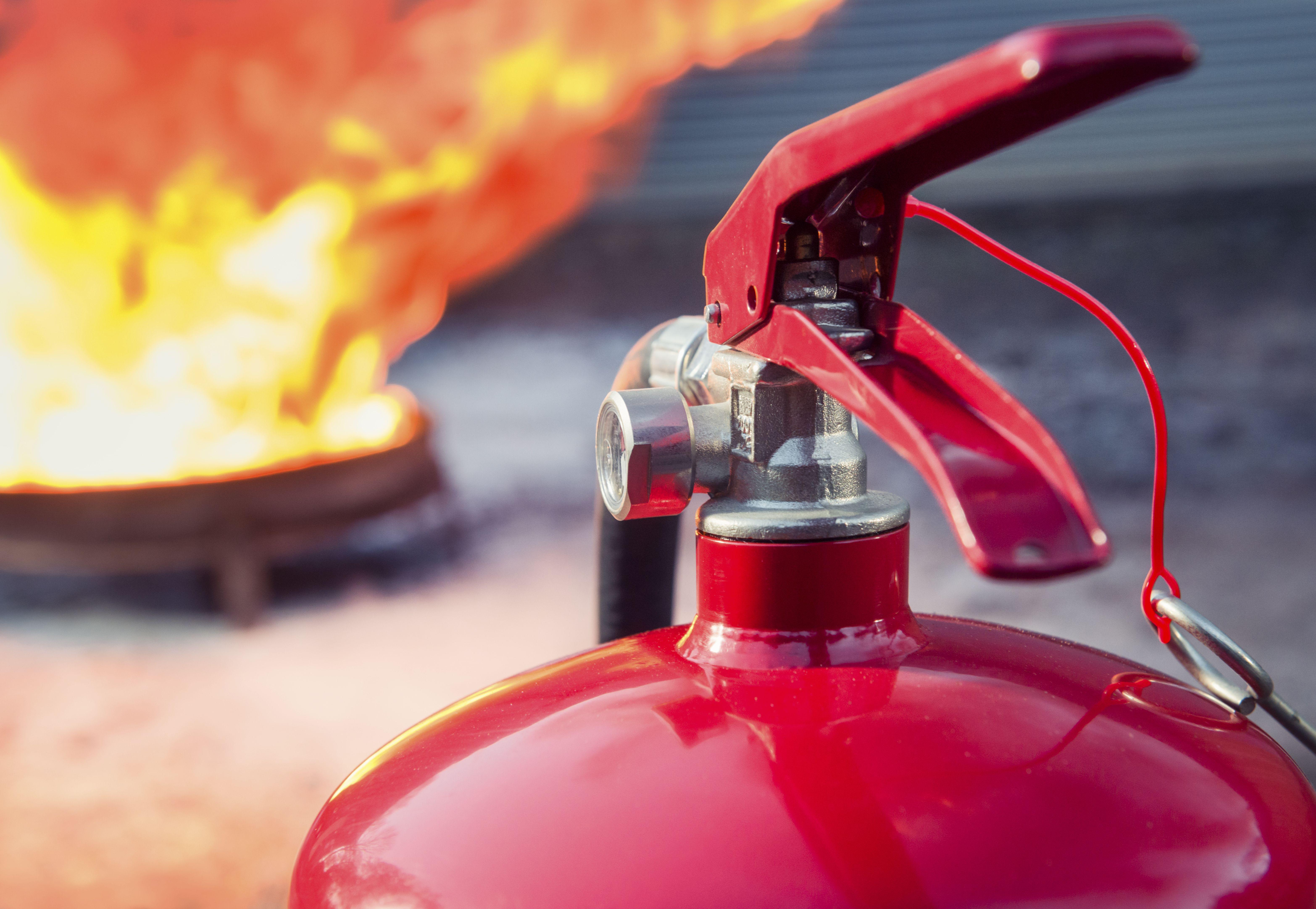 Material contra incendios en Ibiza
