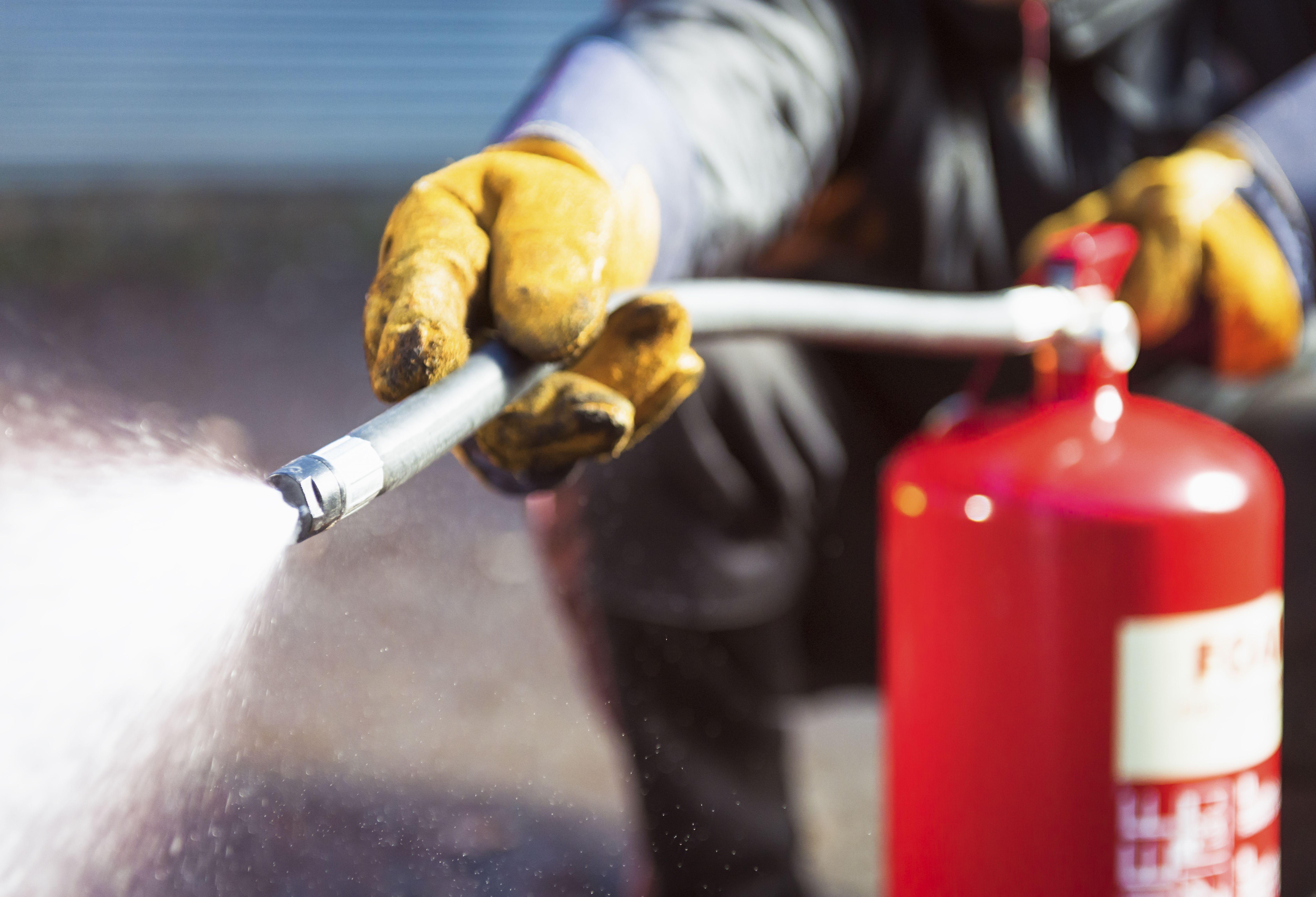 Extintores para particulares y empresas