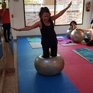 PILATES FITBALL EQUILIBRIO