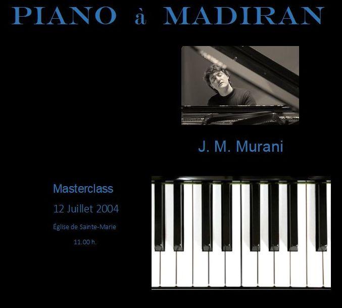 Masterclass y eventos: Servicios de Murani