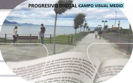 Progresivo digital, campo visual medio: Productos de Centro Óptico Valdavia
