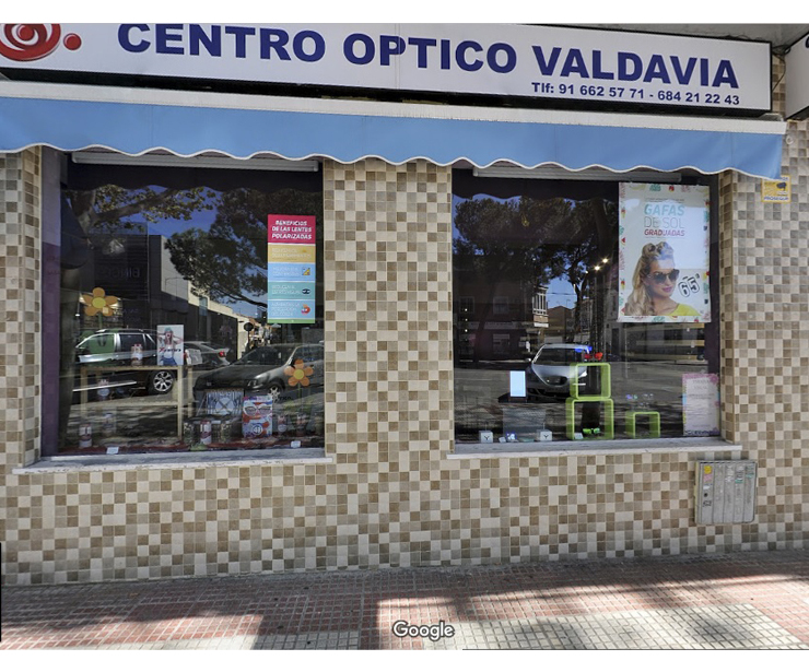 Centro óptico en Alcobendas