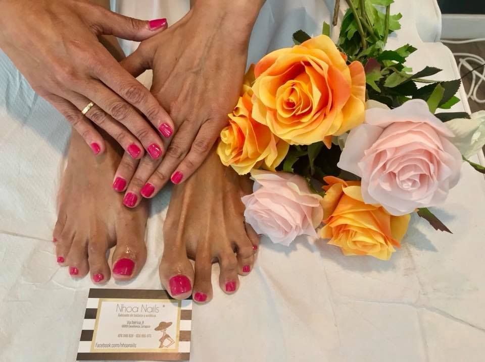 Pedicura: Products de Nhoa Nails*
