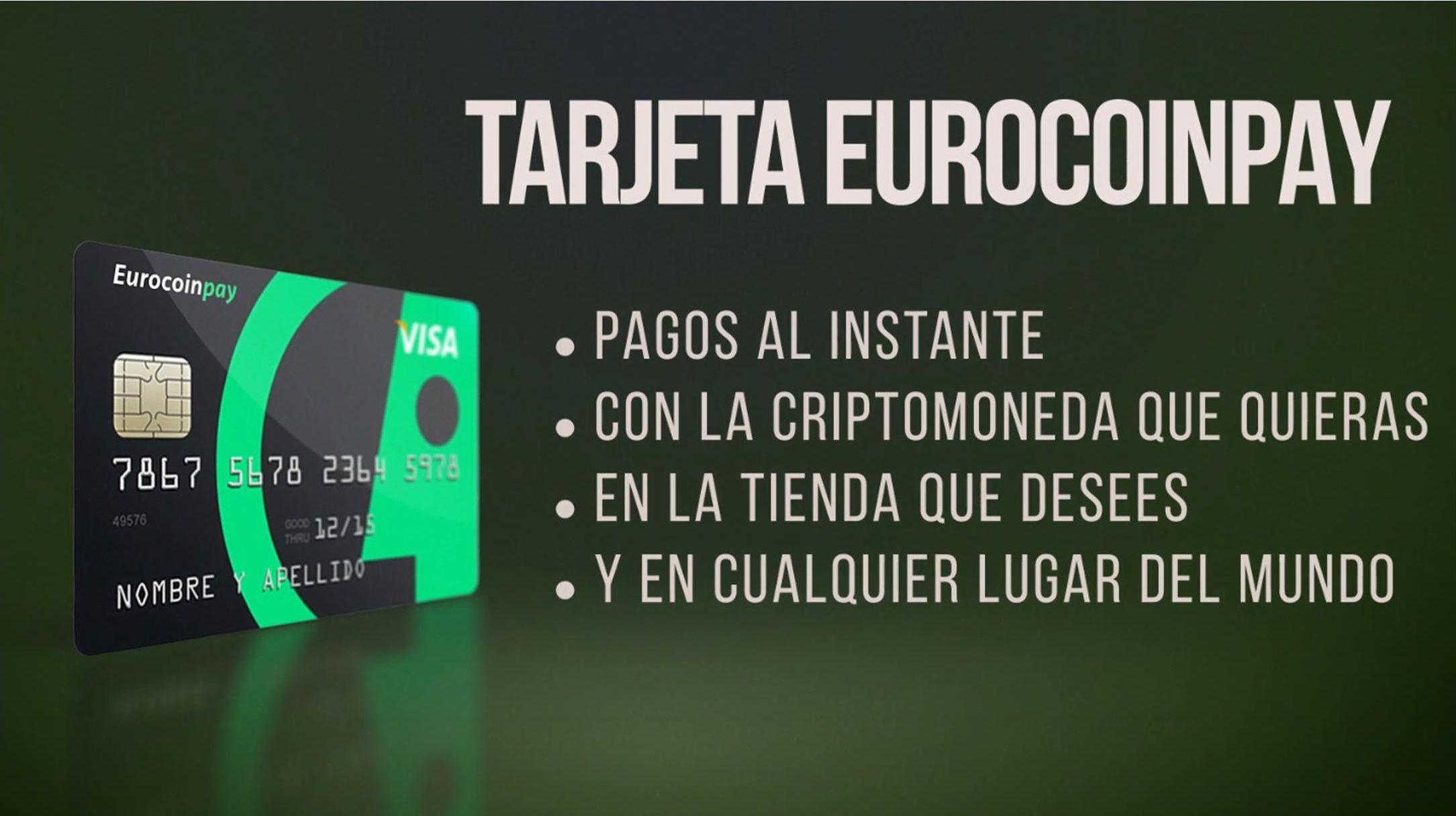 VISA Eurocoinpay: Servicios de Eurocoinpay
