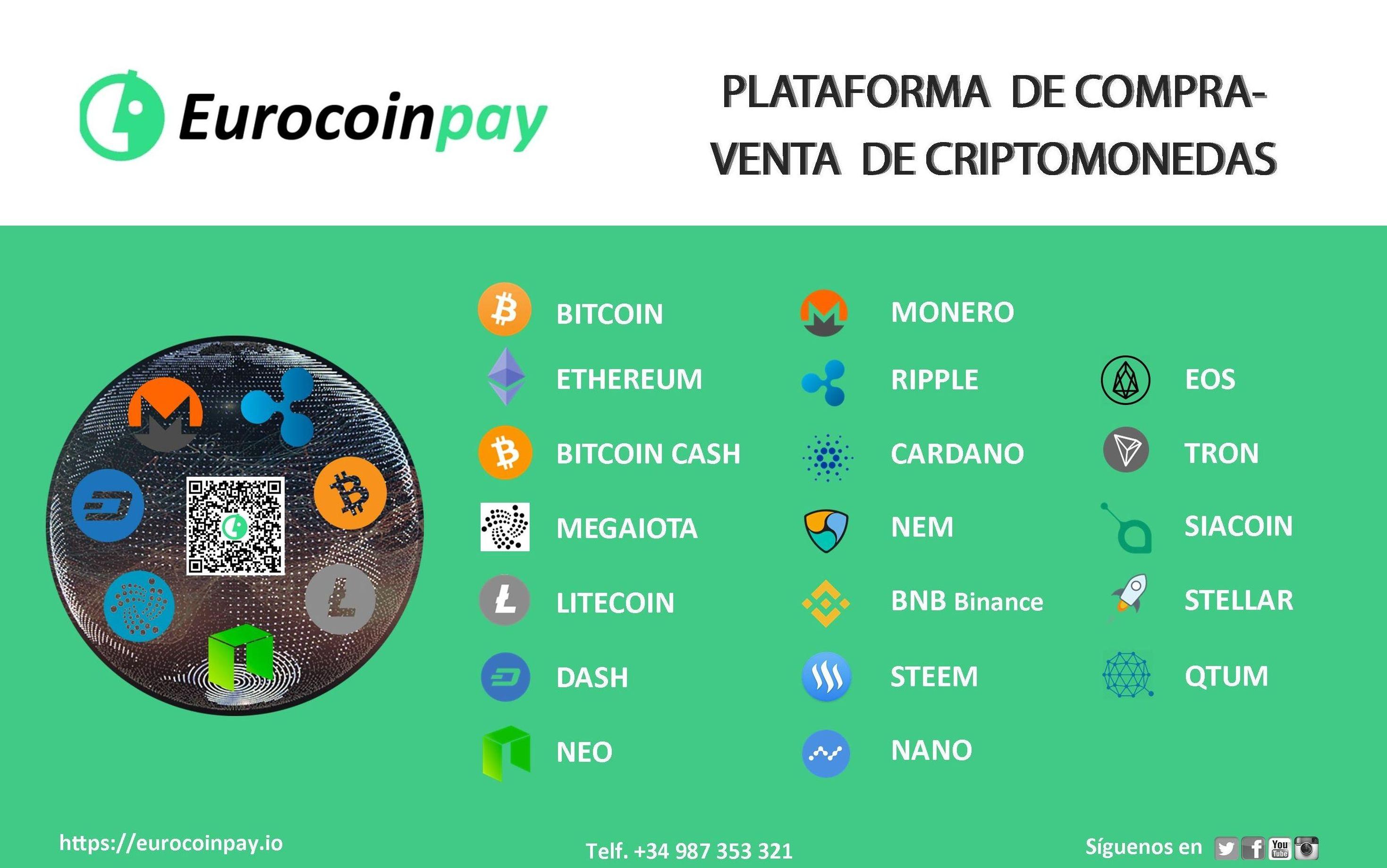 Plataforma de Compra-venta de criptomonedas con una gran propuesta de valor