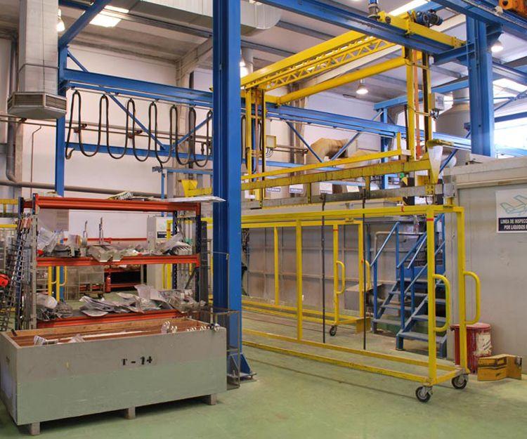 Planta de TTSS de aluminio