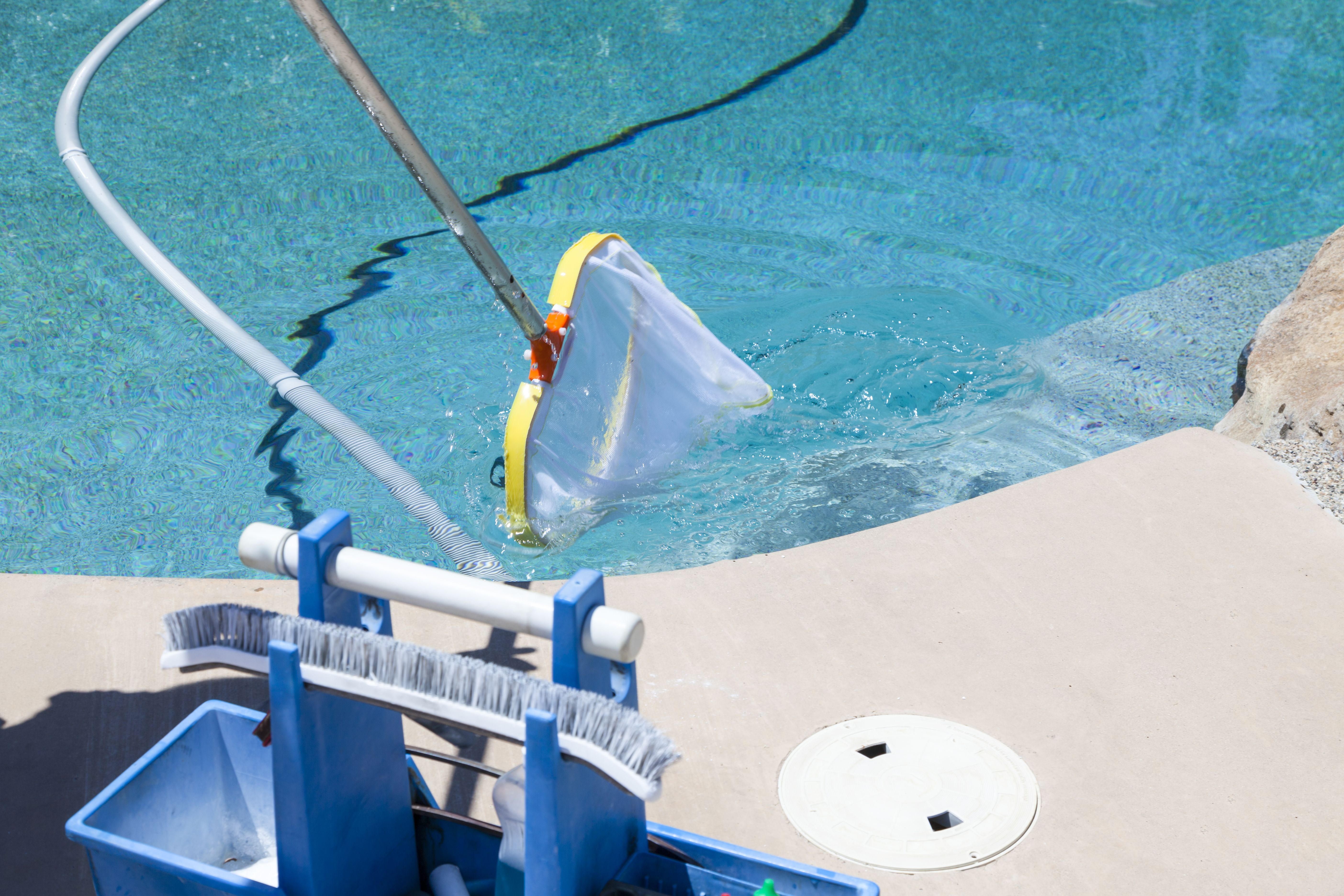 Mantenimiento de piscinas: Catálogo of Limpiezas Brillante
