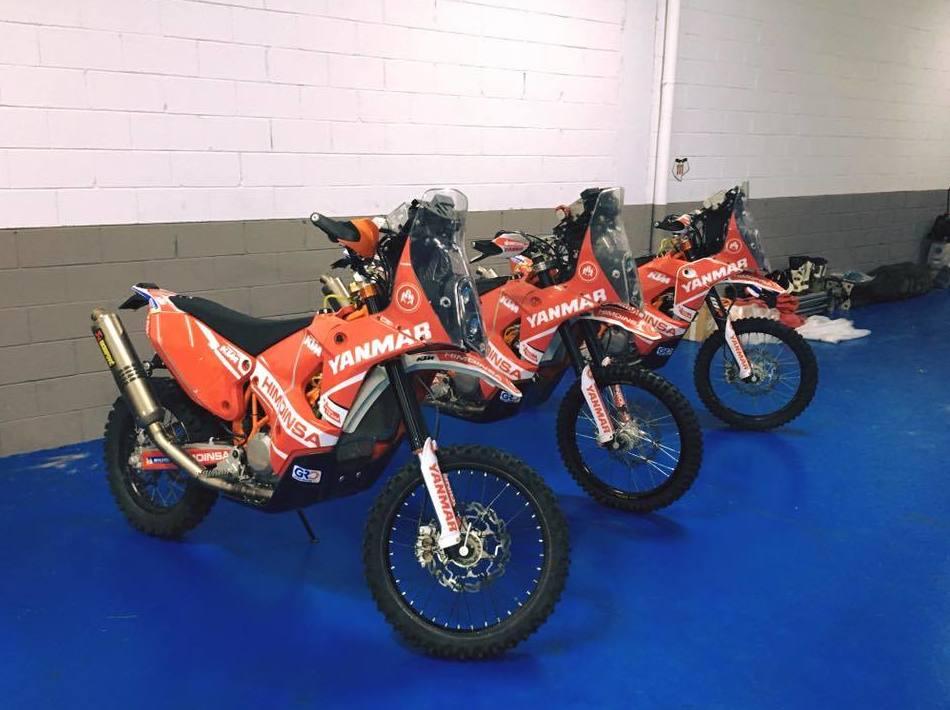 Motos enduro y de competición en Osona