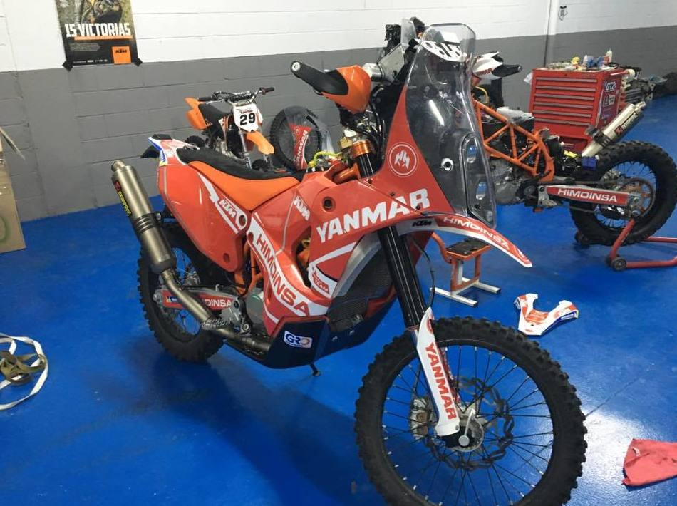Taller de motos enduro y de competición en Osona