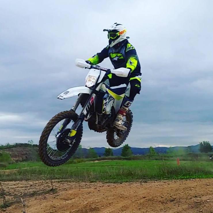 Motos enduro en Osona