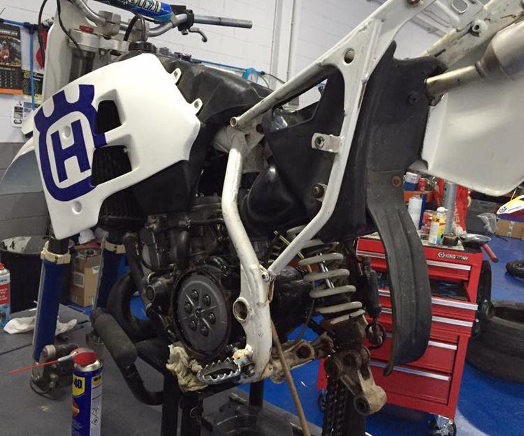 Reparación de motor de motos