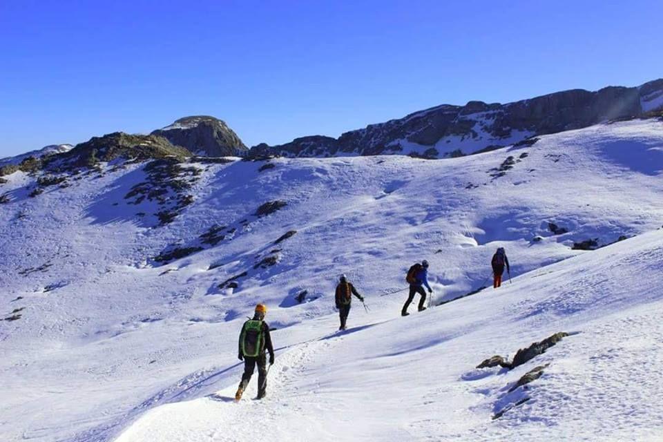 Ruta guiada en raquetas de nieve: Servicios de Astur Aventura