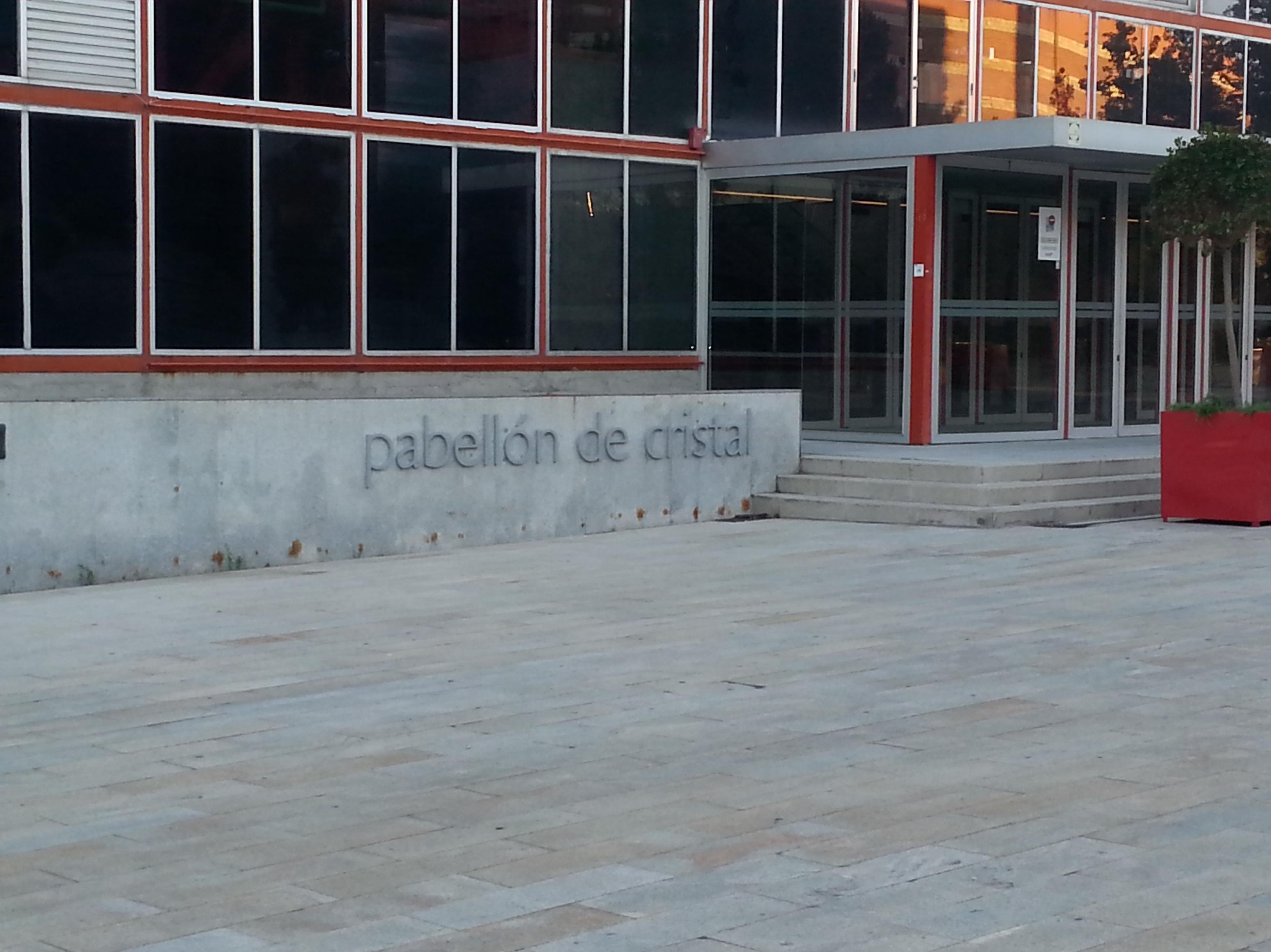 SUELO GRANITO MADRID ARENA - PABELLON DE CRISTAL