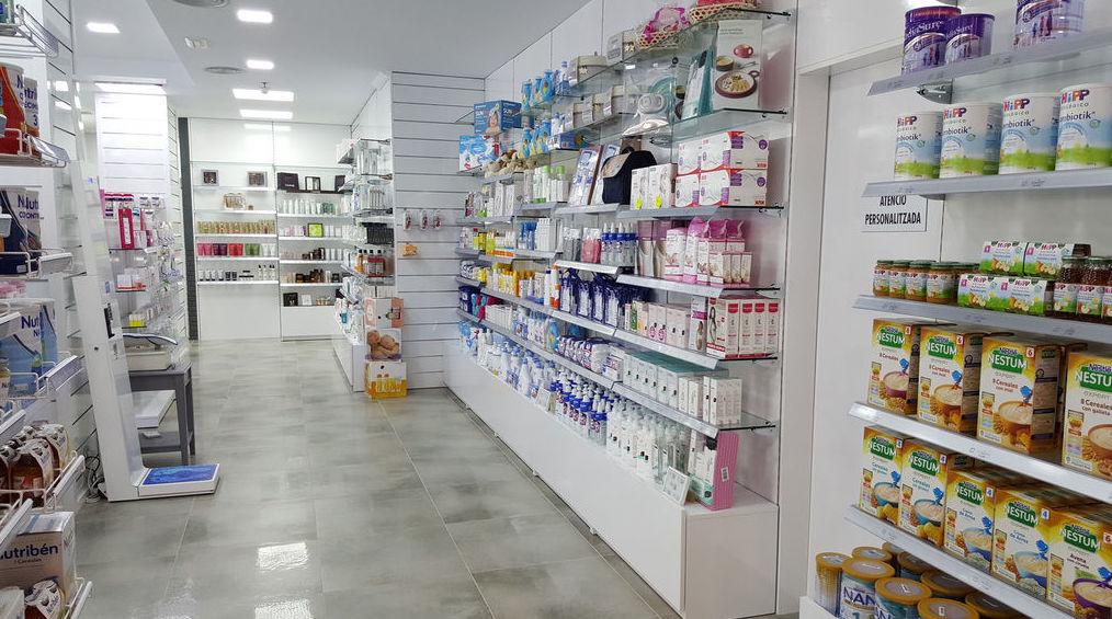 Estanterías para farmacia en Barcelona