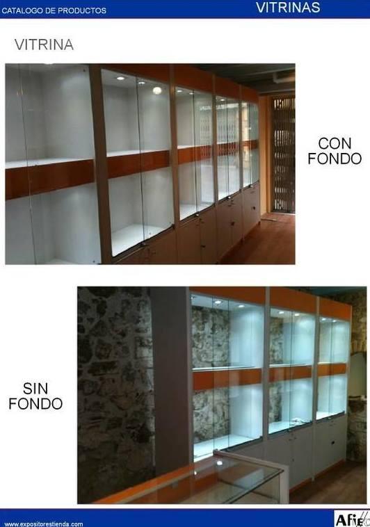 Vitrinas para tienda en Barcelona