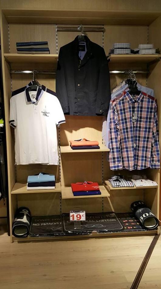 Expositores para ropa en Barcelona