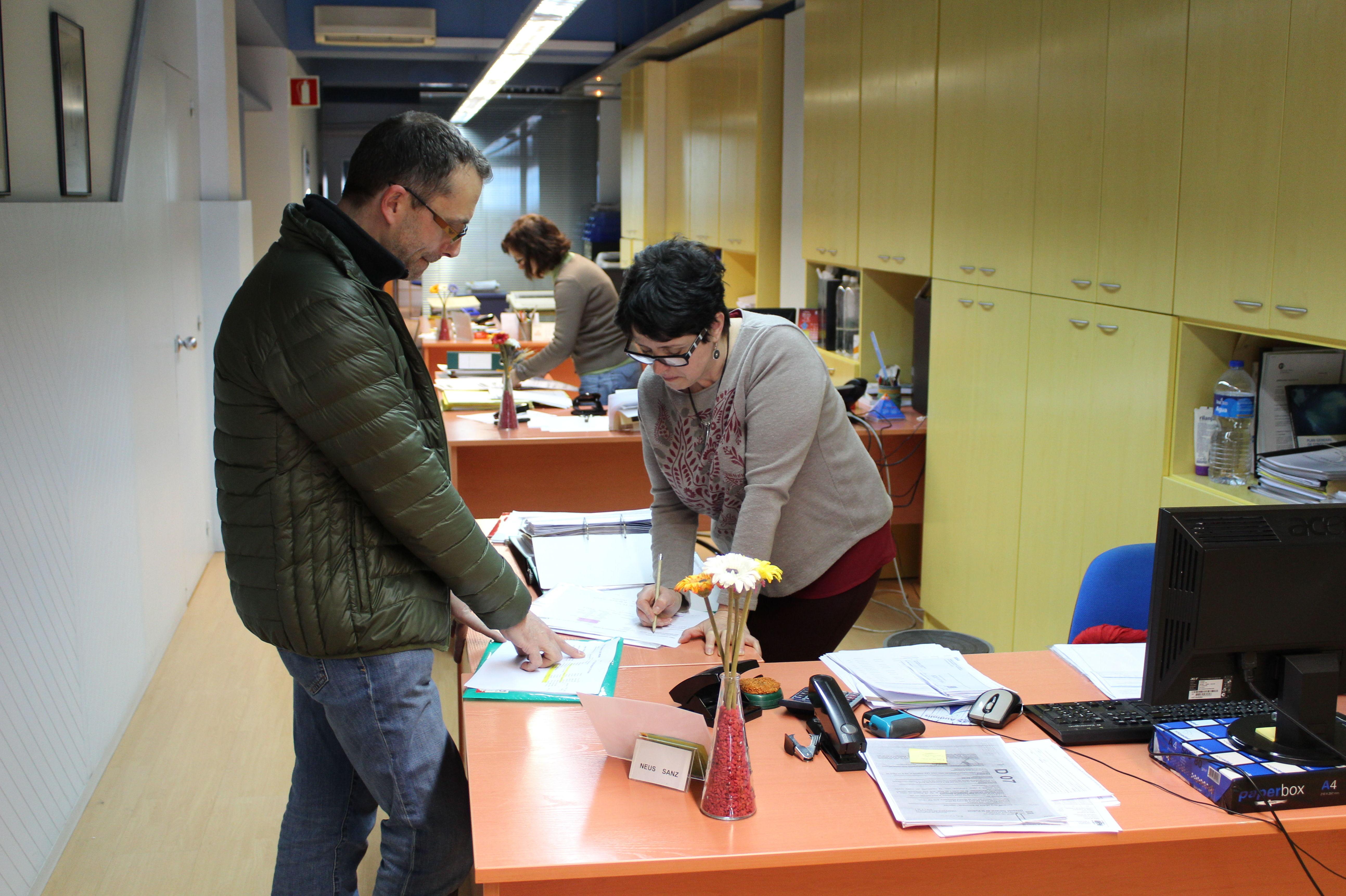 Foto 4 de Asesoría en Esplugues de Llobregat | Assessoría Tomàs Blanco