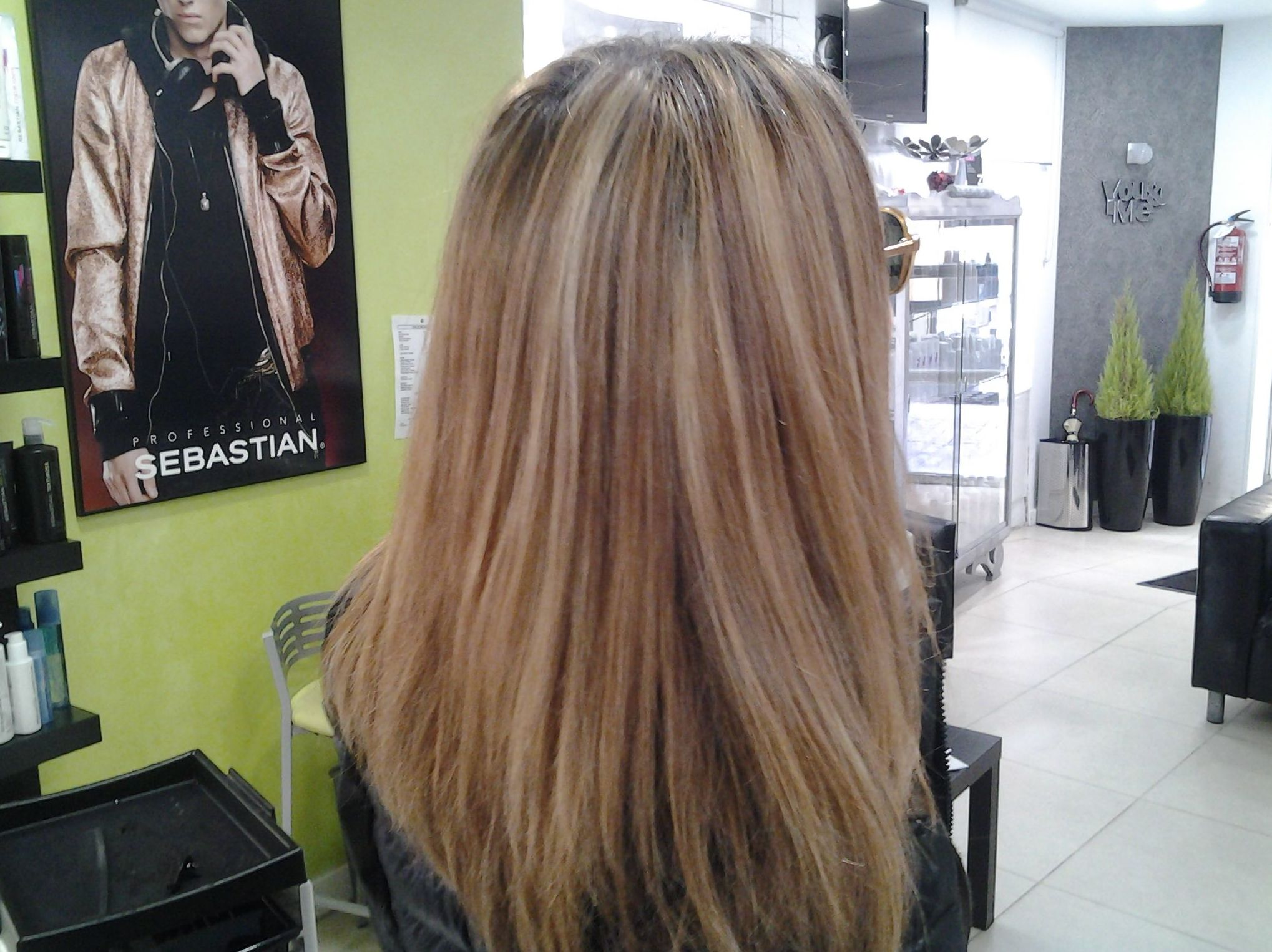 Color natural para su cabello