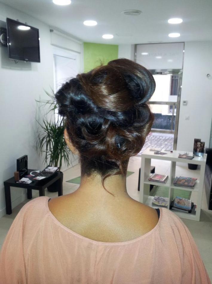 Paca Mayone. Peinados para bodas