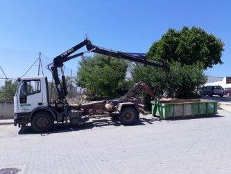 Servicio de recogida de escombros