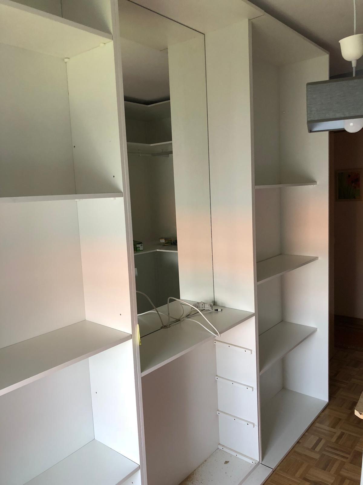 Interiores de armarios a medida en A Coruña