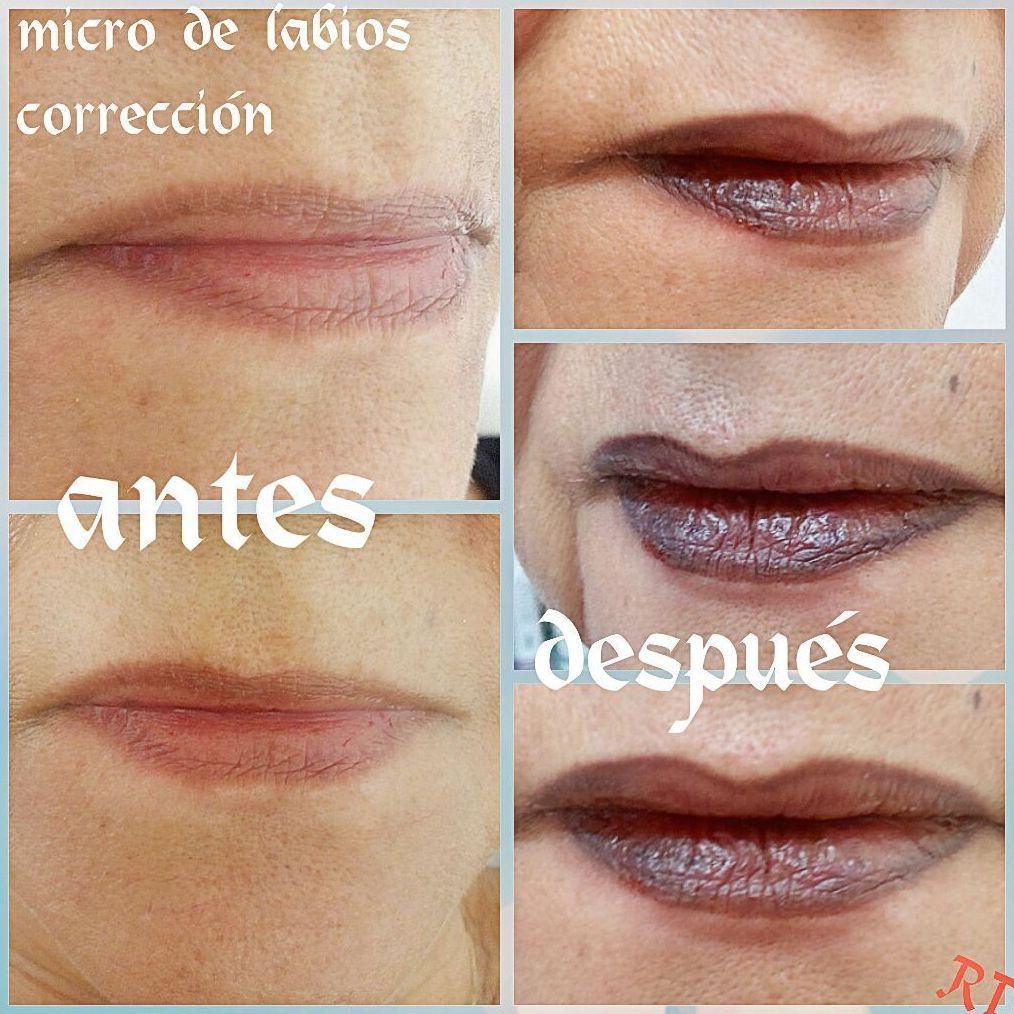 Micropigmentacion de labios Badajoz