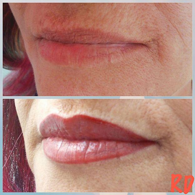 Micropigmentación de labios en Badajoz
