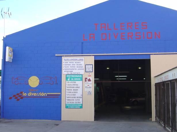 Foto 29 de Talleres de chapa y pintura en Torrevieja | Talleres La Diversión