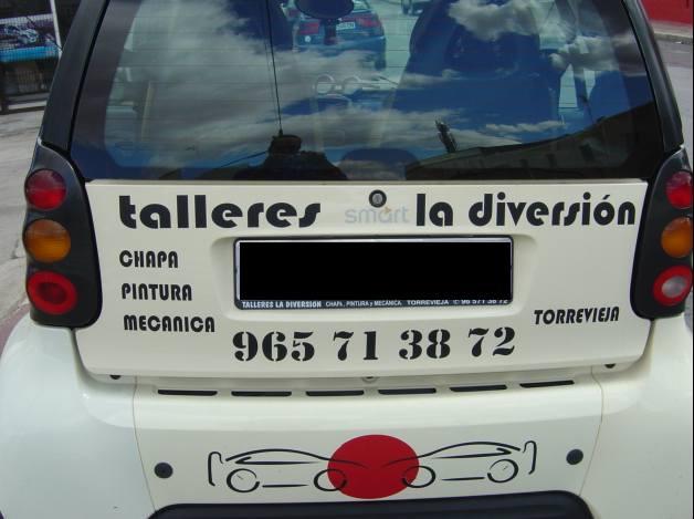 Foto 11 de Talleres de chapa y pintura en Torrevieja | Talleres La Diversión